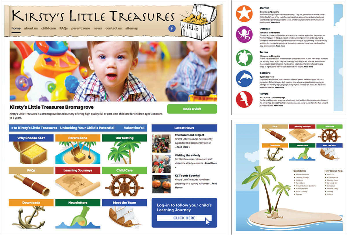 New website for Kirsty's Little Treasures