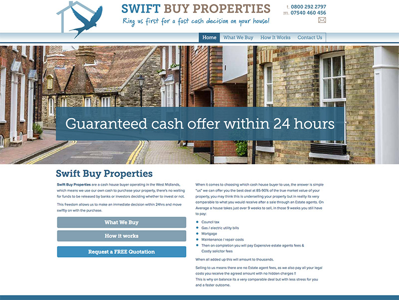 Swift Buy Properties West Midlands