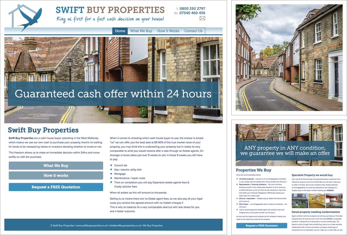Swift Buy Properties Website