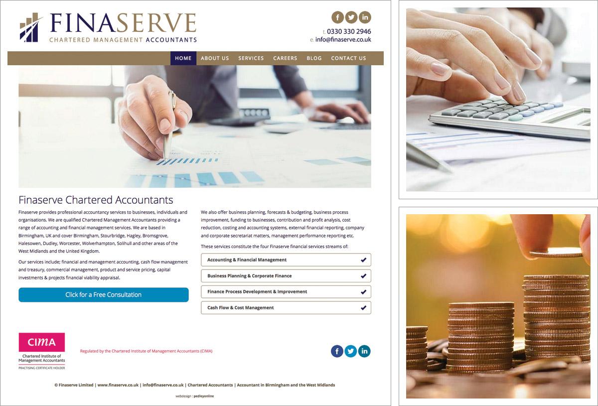 Financial Website Design Birmingham