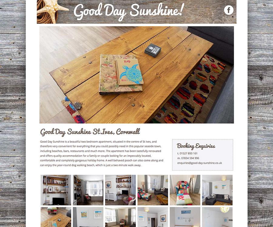Good Day Sunshine Website