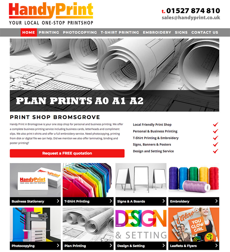 Print Shop Bromsgrove