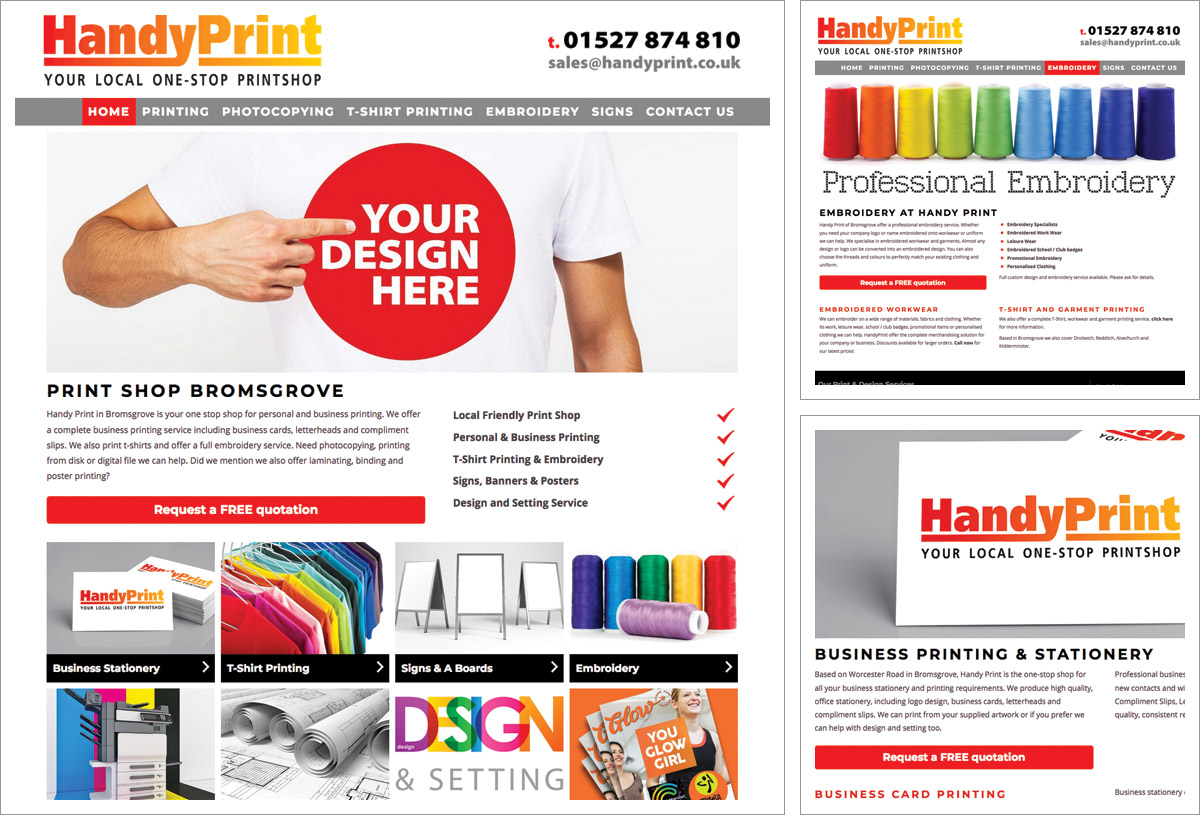 Handy Print Website