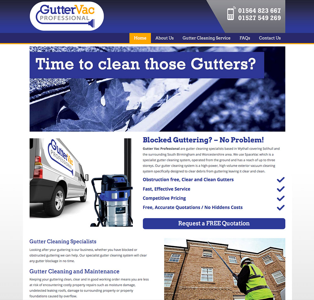 Gutter Vac Professional Wythall