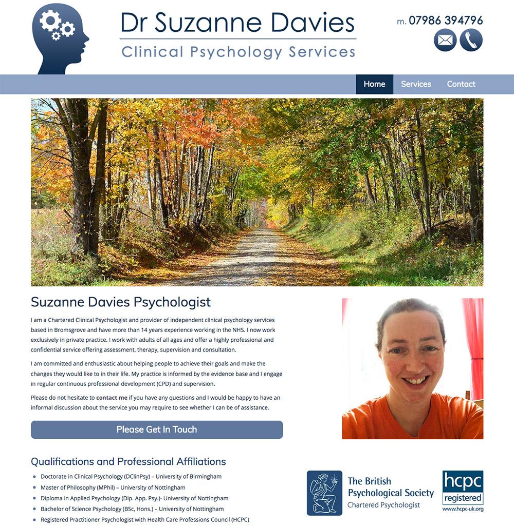 Suzanne Davies Psycologist
