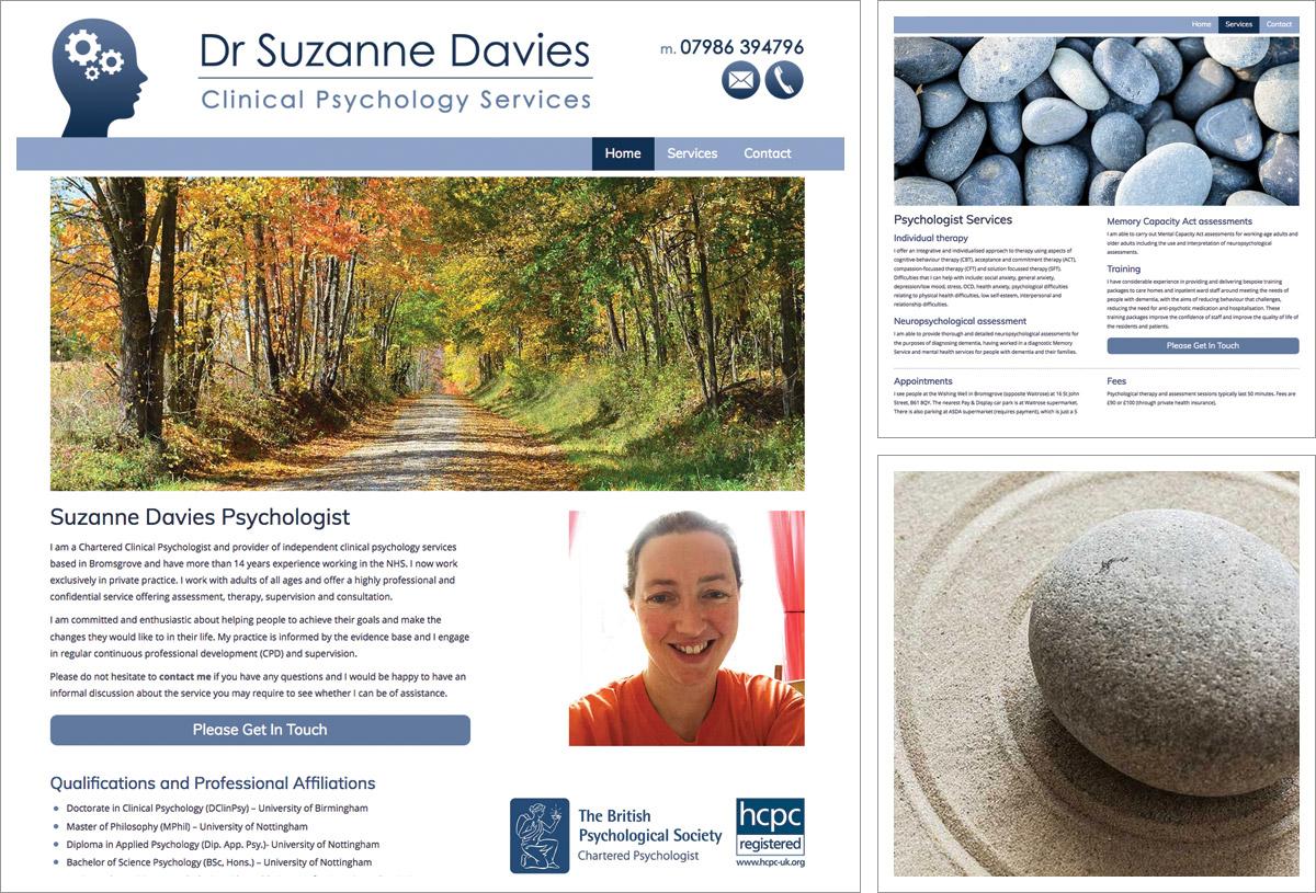 Suzanne Davies Psycologist Website