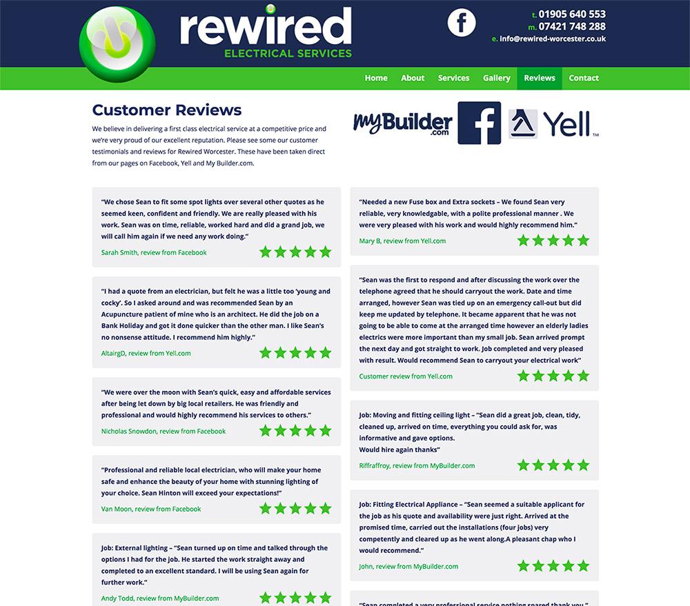 Rewired Testimonials