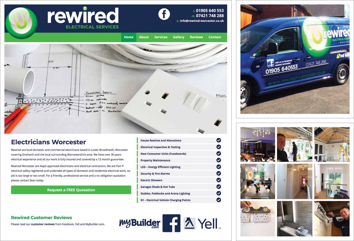 Rewired Worcester Website