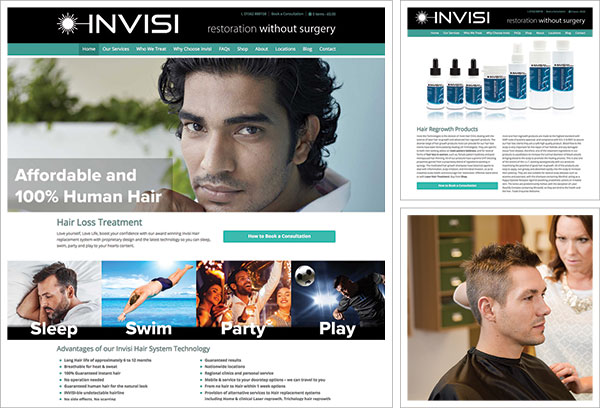 Invisi Hair Website