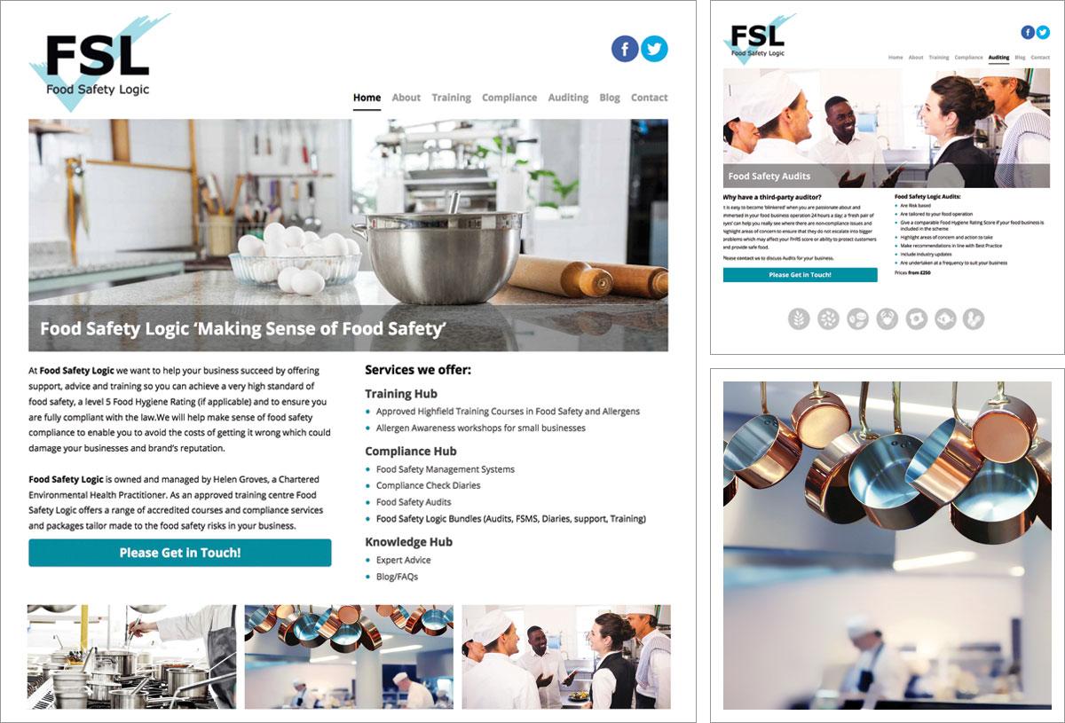 Food Safety Logic Website
