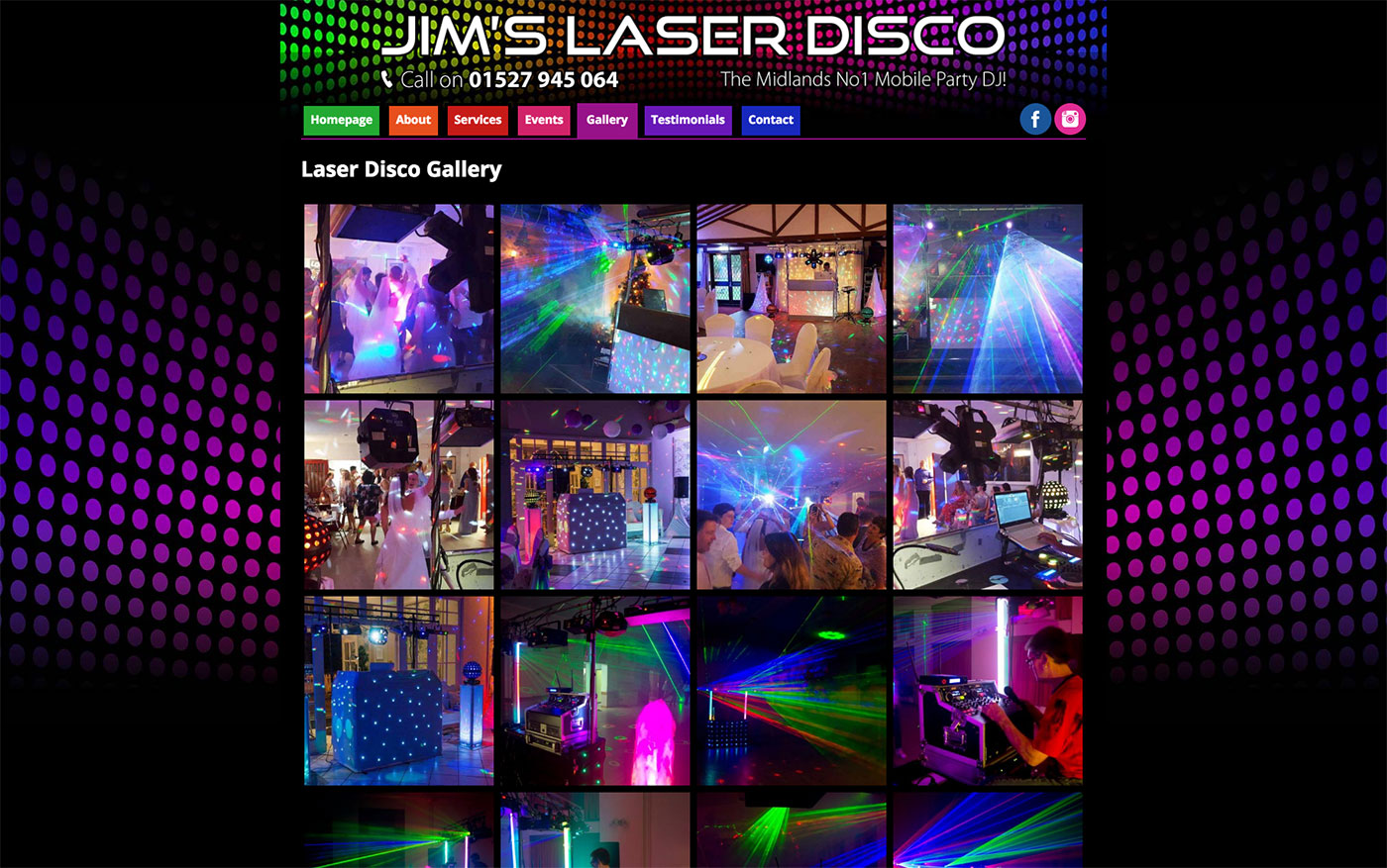 Jims Laser Disco Gallery