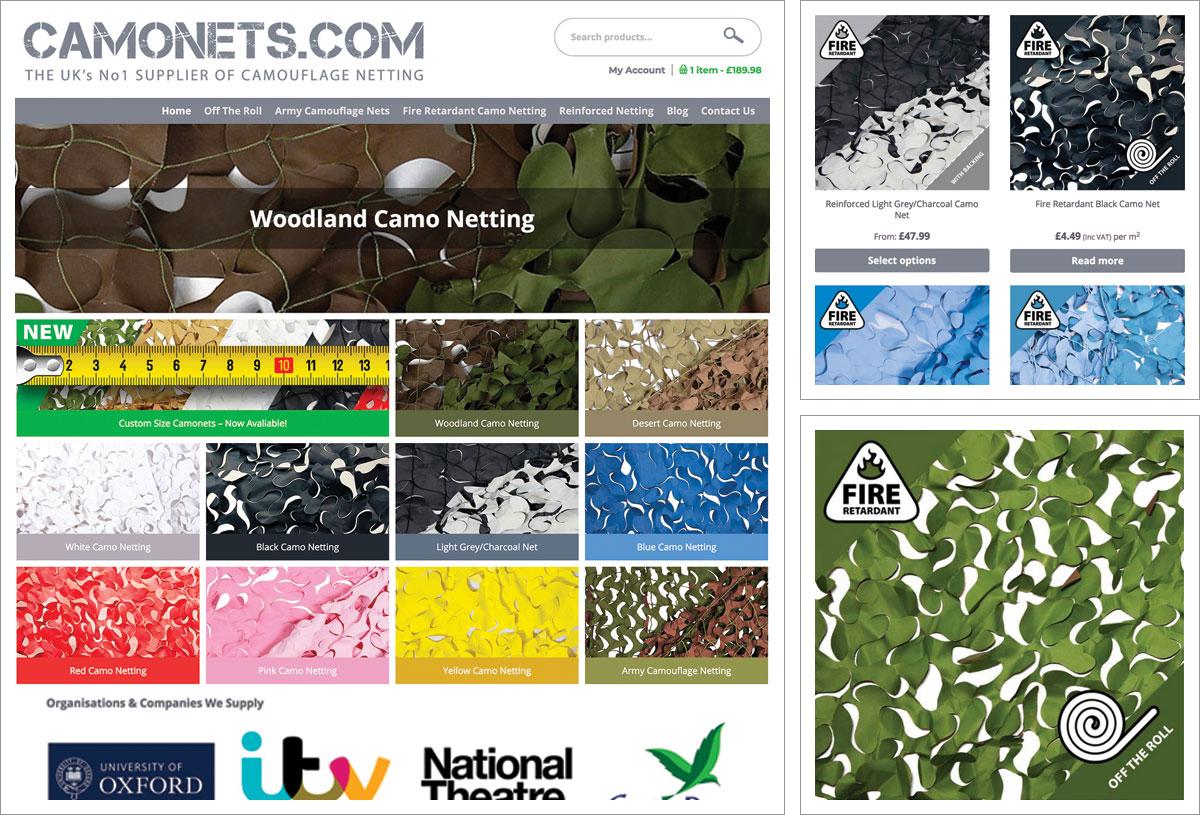 Camonets websites