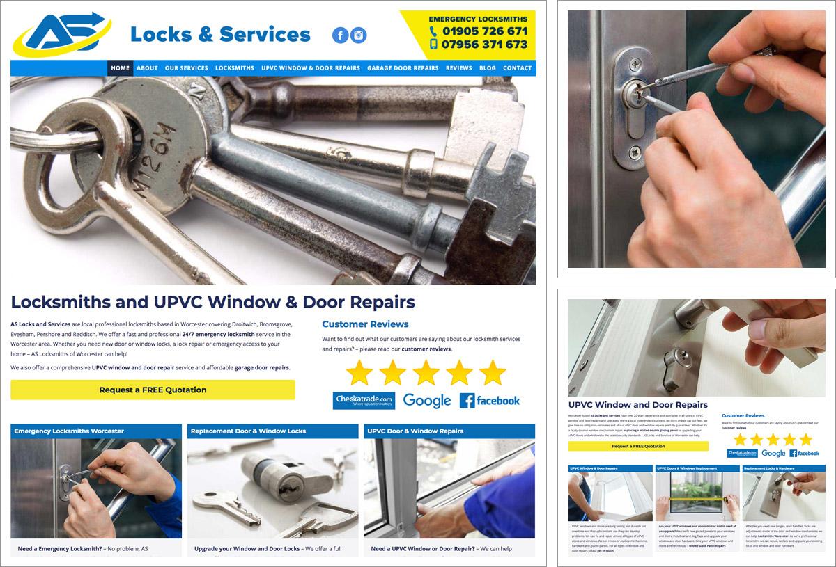 AS Locks & Services Website