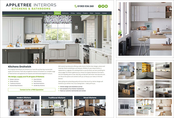 Appletree Interiors Website