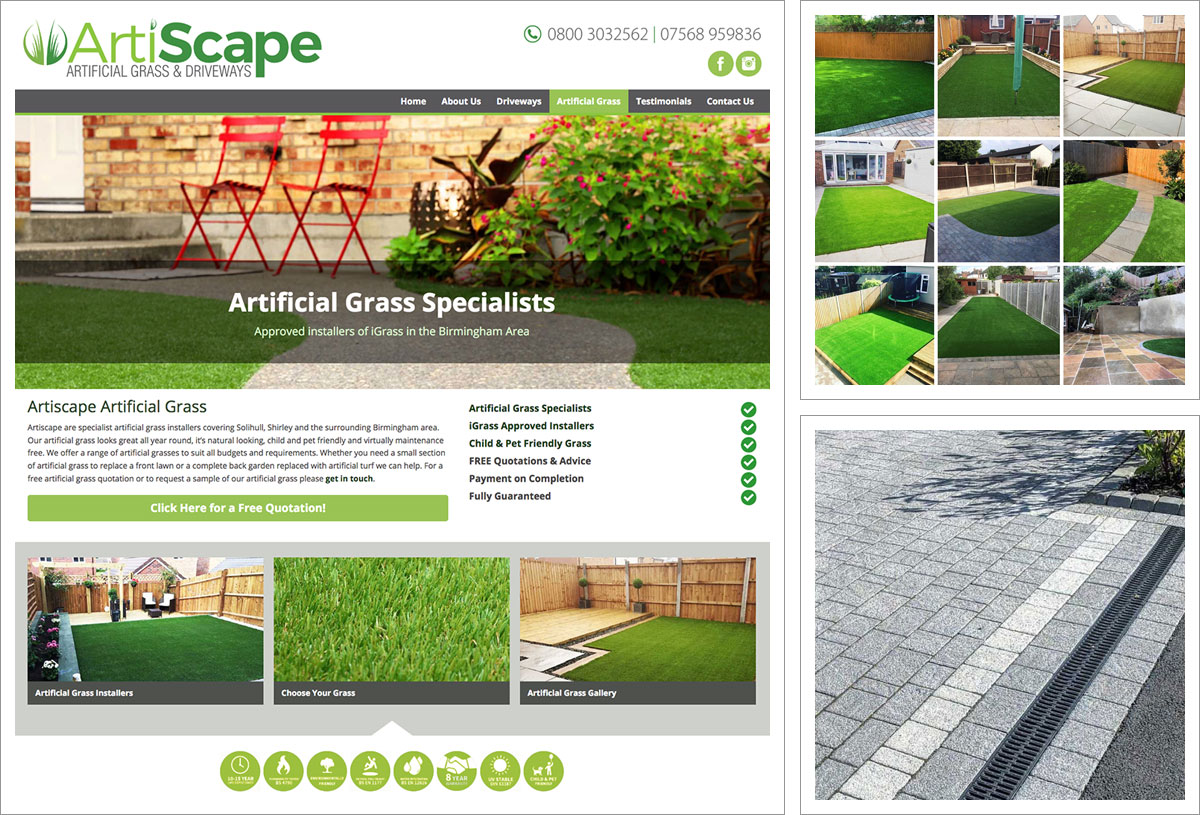 Artiscape Midlands Website