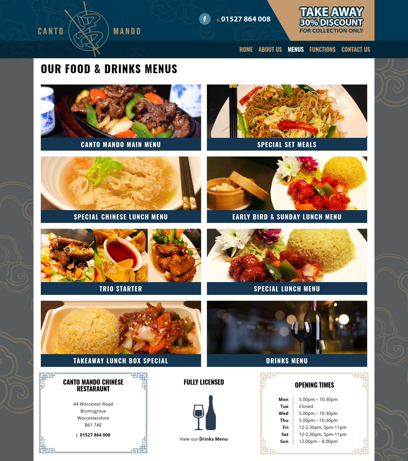 Canto Mando Website Bromsgrove