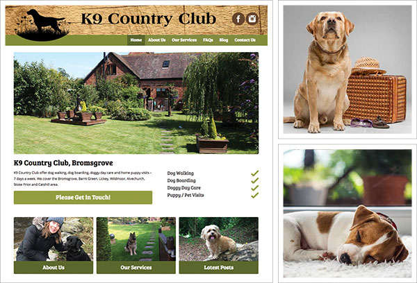 K9 Country Club Services Bromsgrove