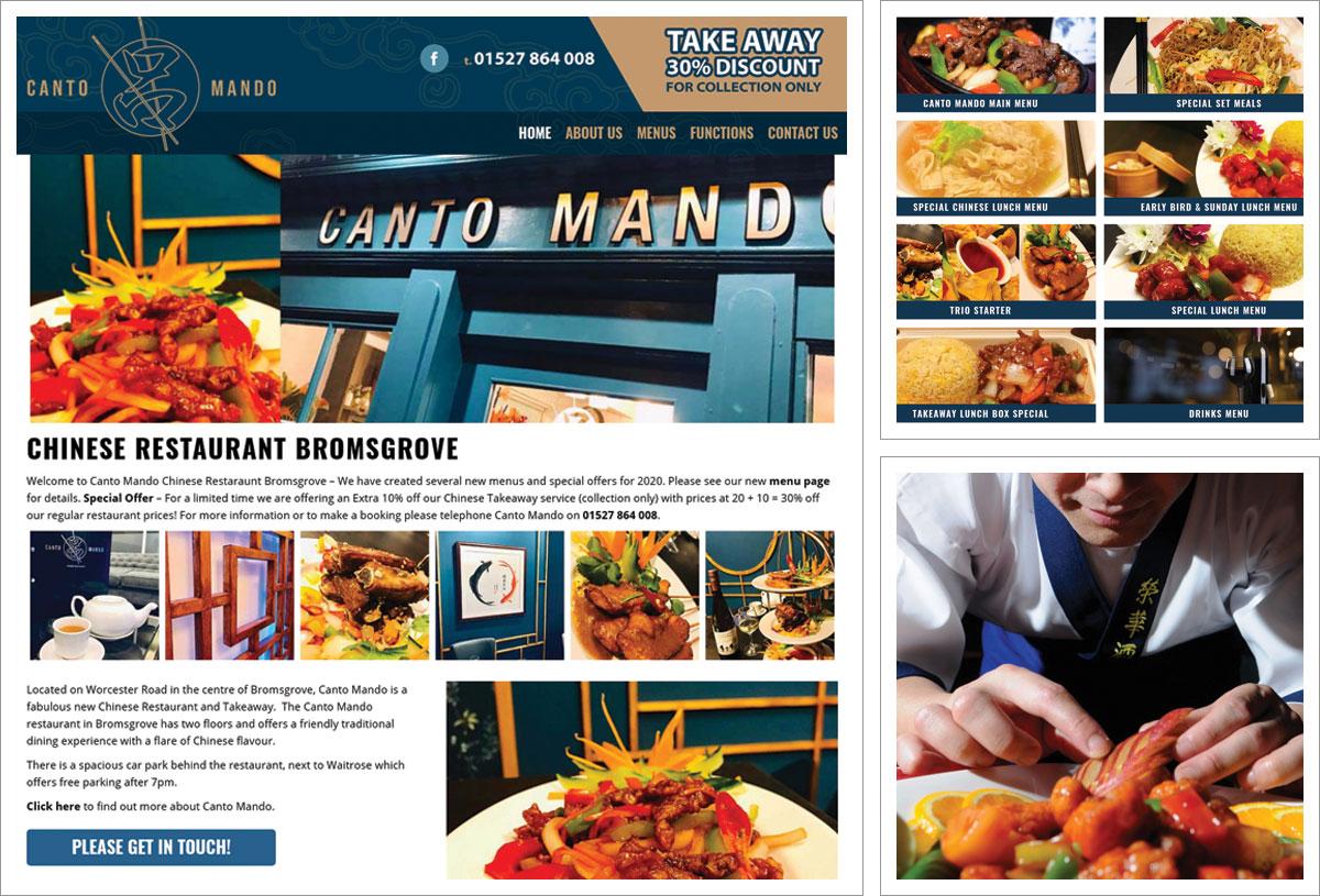 Restaurant Website Bromsgrove