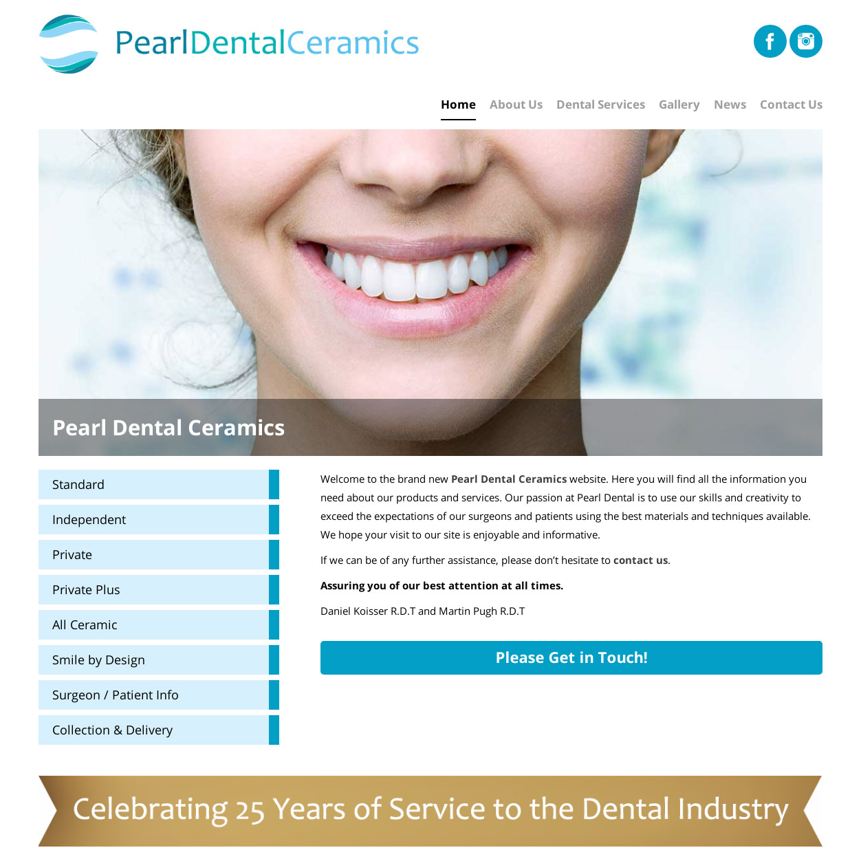 Pearl Dental have a new website to smile about