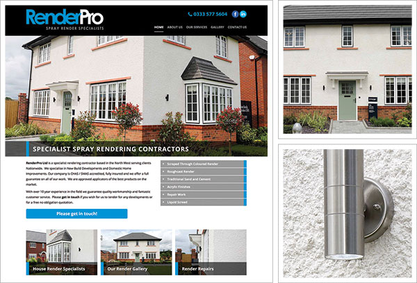 Render Pro Website UK