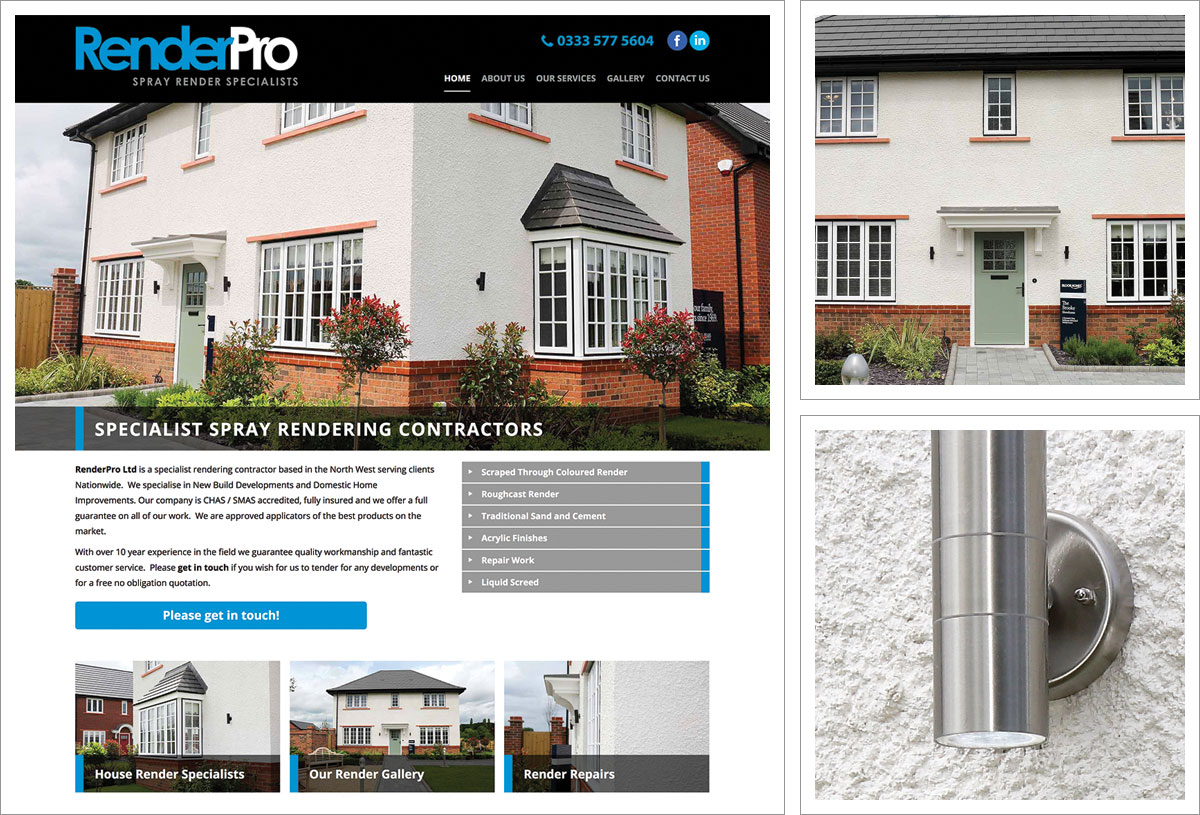 Render Pro Website