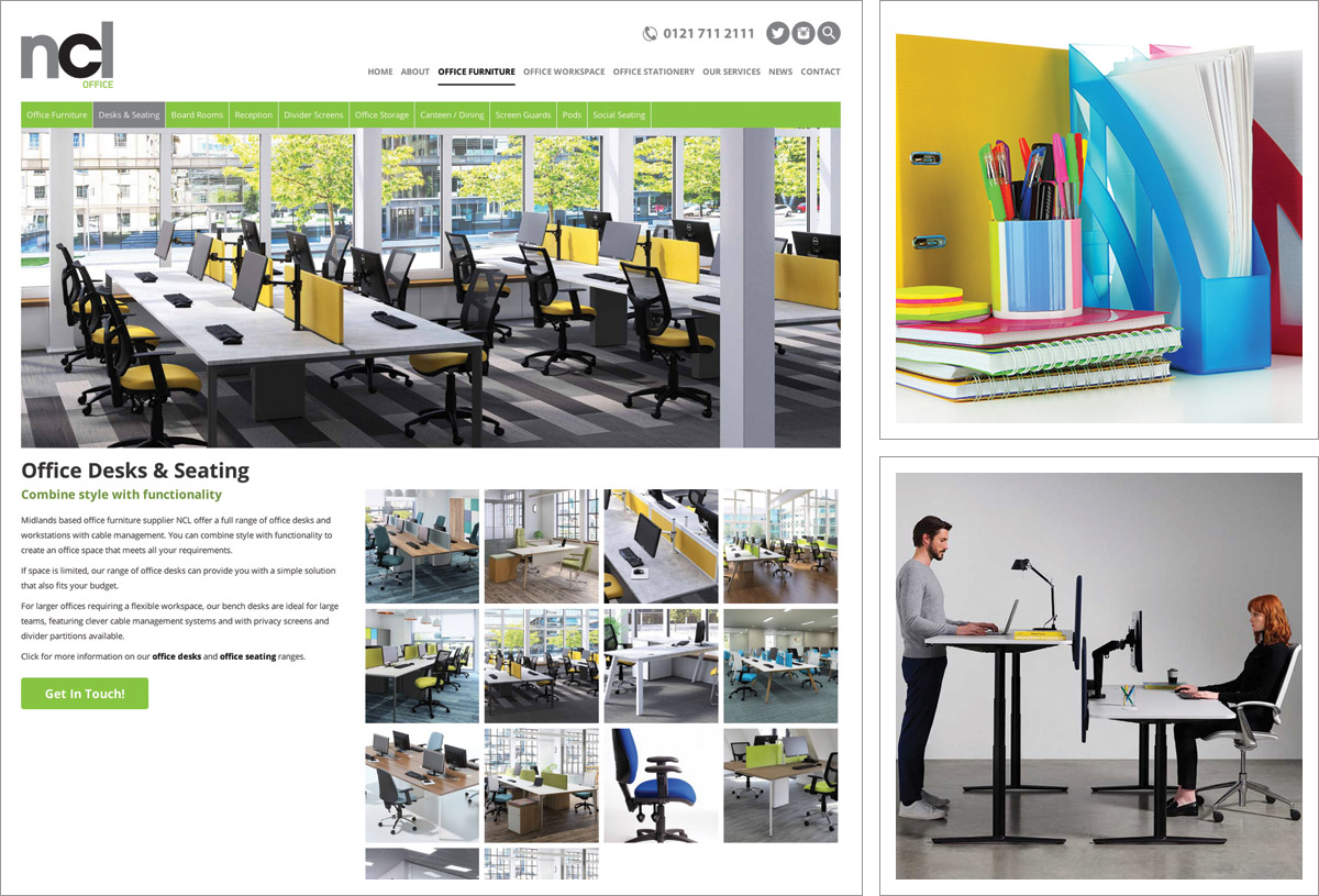 NCL Office Website Birmingham