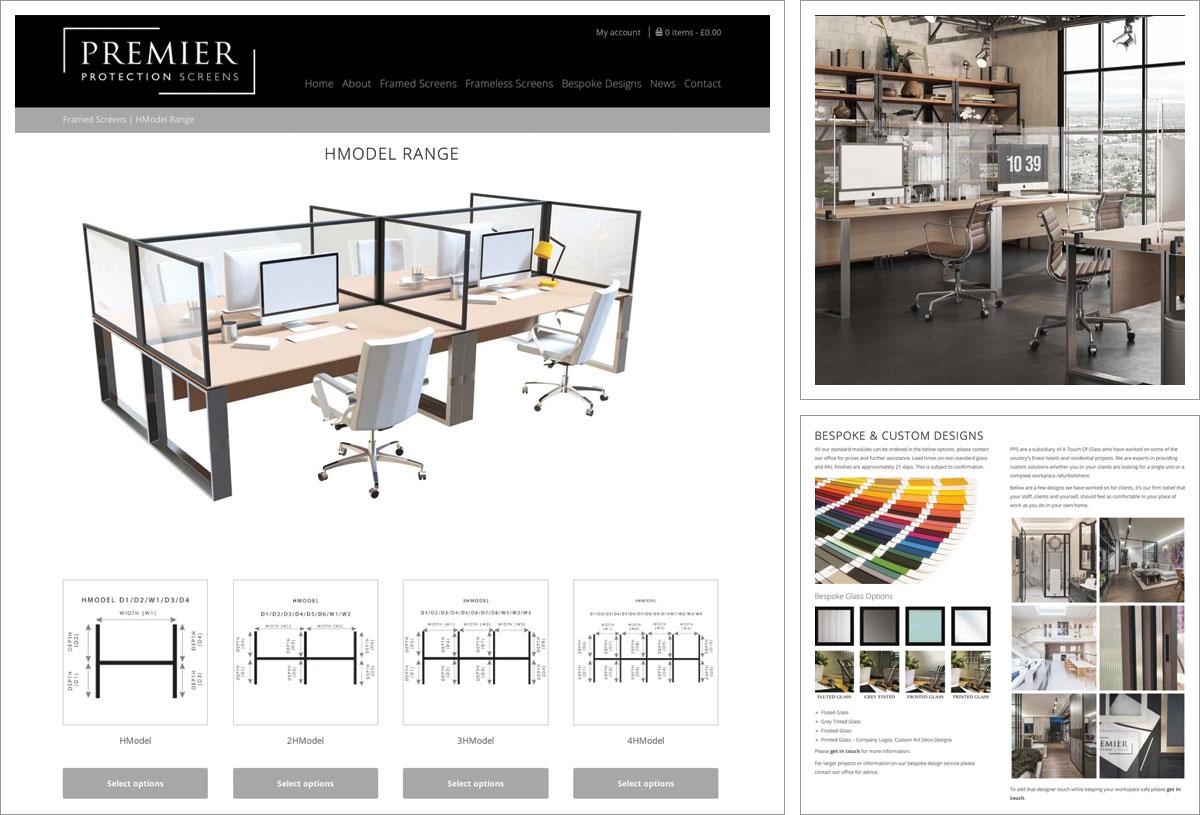 Premier Protection Screens E-Commerce Website