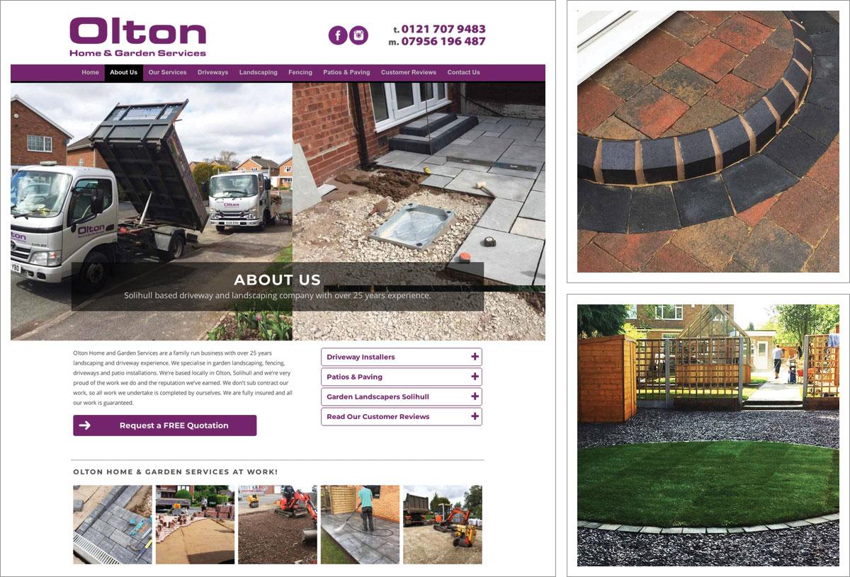 Olton Garden Services Website